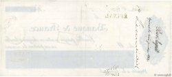 512,30 Francs FRANCE régionalisme et divers ÉPINAL 1882 DOC.Chèque TTB