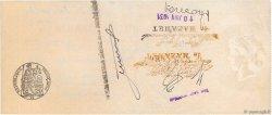34608,30 Francs FRANCE régionalisme et divers MAZAMET 1931 DOC.Chèque TTB