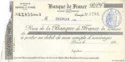 Francs FRANCE régionalisme et divers Paris 1890 DOC.Reçu SUP