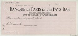 Florins FRANCE régionalisme et divers Paris 1930 DOC.Chèque SPL