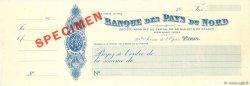 Francs FRANCE régionalisme et divers PARIS 1911 DOC.Chèque SPL