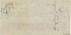 1125,55 Francs FRANCE régionalisme et divers PARIS 1914 DOC.Chèque SUP