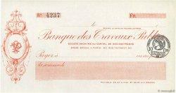 Francs FRANCE régionalisme et divers Paris 1915 DOC.Chèque SPL