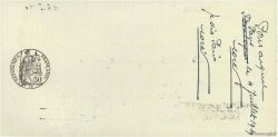 6500 Francs FRANCE régionalisme et divers Paris 1939 DOC.Chèque SPL