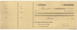 Francs FRANCE régionalisme et divers PARIS 1890 DOC.Chèque SUP