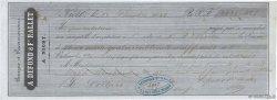 2439,40 Francs FRANCE régionalisme et divers NIORT 1846 DOC.Mandat TTB