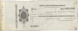 Francs FRANCE régionalisme et divers PARIS 1850 DOC.Lettre TTB