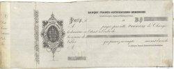 Francs FRANCE régionalisme et divers Paris 1850 DOC.Lettre TTB