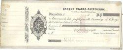 Francs FRANCE régionalisme et divers Alexandrie 1870 DOC.Lettre TTB