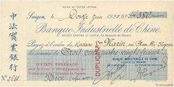 380 Francs FRANCE régionalisme et divers PARIS 1920 DOC.Chèque SUP