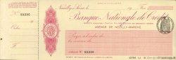 Francs FRANCE régionalisme et divers Neuilly-Sur-Seine 1924 DOC.Chèque SUP