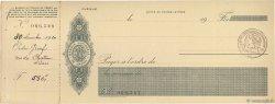 Francs FRANCE régionalisme et divers (PARIS) 1915 DOC.Chèque SUP