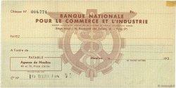 Francs FRANCE régionalisme et divers MOULINS 1930 DOC.Chèque TTB