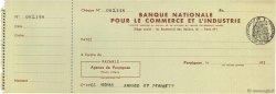 Francs FRANCE régionalisme et divers Perpignan 1933 DOC.Chèque SPL