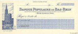 Francs FRANCE régionalisme et divers Strasbourg 1917 DOC.Chèque NEUF
