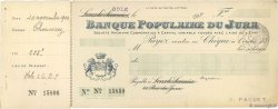 Francs FRANCE régionalisme et divers Lons-Le-Saunier 1924 DOC.Chèque TTB