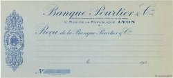 Francs FRANCE régionalisme et divers Lyon 1930 DOC.Reçu SPL
