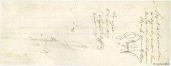300 Francs FRANCE régionalisme et divers PARIS 1847 DOC.Chèque TTB