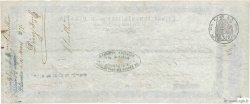 170 Francs FRANCE régionalisme et divers SAINT QUENTIN 1855 DOC.Mandat TB