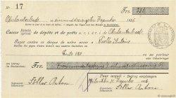 238 Francs FRANCE régionalisme et divers Oberlauterbach 1936 DOC.Chèque SUP