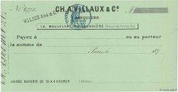 Francs FRANCE régionalisme et divers Paris 1871 DOC.Chèque SPL