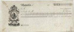 Francs FRANCE régionalisme et divers MARSEILLE 1860 DOC.Chèque SUP