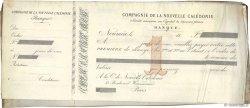 Francs FRANCE régionalisme et divers Nouméa 1872 DOC.Lettre TB