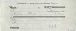 Francs FRANCE régionalisme et divers Paris 1890 DOC.Mandat SUP