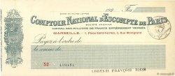 Francs FRANCE régionalisme et divers MARSEILLE 1924 DOC.Chèque SUP