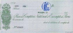 Francs FRANCE régionalisme et divers Rouen 1900 DOC.Reçu SUP