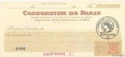 Francs FRANCE régionalisme et divers Paris 1920 DOC.Reçu SPL