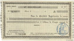 Francs FRANCE régionalisme et divers Paris 1871 DOC.Reçu SUP