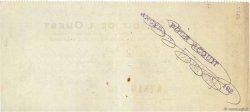 1000 Francs FRANCE régionalisme et divers Angers 1924 DOC.Chèque TTB