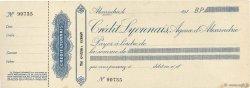 (Piastres) FRANCE régionalisme et divers Alexandrie 1910 DOC.Chèque SUP