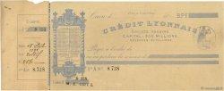 Francs FRANCE régionalisme et divers Caen 1888 DOC.Chèque TTB