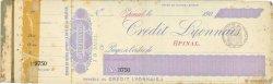 Francs FRANCE régionalisme et divers Épinal 1900 DOC.Chèque TB