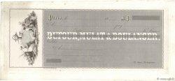 Francs FRANCE régionalisme et divers Paris 1860 DOC.Chèque TTB