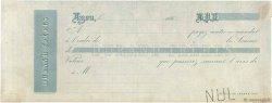 Francs FRANCE régionalisme et divers LYON 1860 DOC.Mandat TTB
