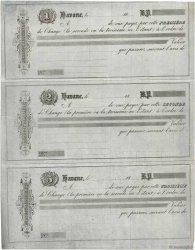 (B.P.) FRANCE régionalisme et divers LA HAVANE (CUBA) 1863 DOC.Lettre SUP