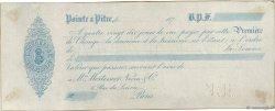 Francs FRANCE régionalisme et divers POINTE À PITRE (GUADELOUPE) 1870 DOC.Lettre SUP