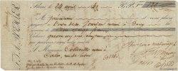120 Francs FRANCE régionalisme et divers Paris 1841 DOC.Chèque TB