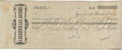 Francs FRANCE régionalisme et divers Paris 1860 DOC.Lettre SUP