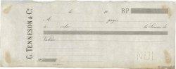 Francs FRANCE régionalisme et divers (PARIS) 1883 DOC.Chèque TTB