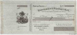 Francs FRANCE régionalisme et divers PORT-AU-PRINCE (HAÏTI) 1870 DOC.Lettre SUP
