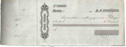 Francs FRANCE régionalisme et divers Le Havre 1900 DOC.Chèque TTB