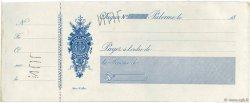 Francs FRANCE régionalisme et divers Palerme 1865 DOC.Chèque SUP