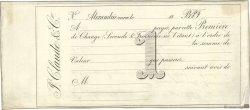 Francs FRANCE régionalisme et divers Alexandrie 1868 DOC.Lettre TTB
