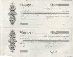Francs FRANCE régionalisme et divers BESANÇON 1843 DOC.Mandat TTB