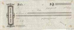 (B.P.) FRANCE régionalisme et divers BÂLE (SUISSE) 1870 DOC.Lettre SUP