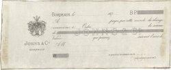Francs FRANCE régionalisme et divers BORDEAUX 1870 DOC.Lettre TTB